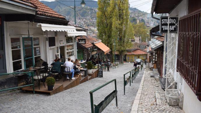 Kovaci street Sarajevo