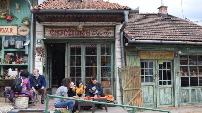 teahouse Dzirlo Sarajevo