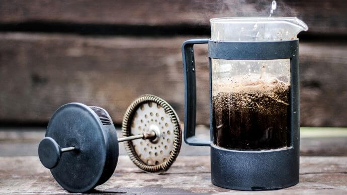 Beginner S Guide To French Press Coffee Make It At Home With No Fuss