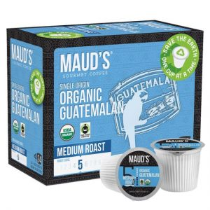 maud guatemalan coffee pods